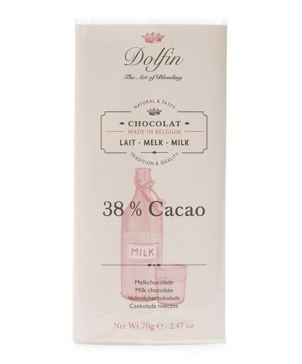 Milk Chocolate 38% Cacao Bar 70g