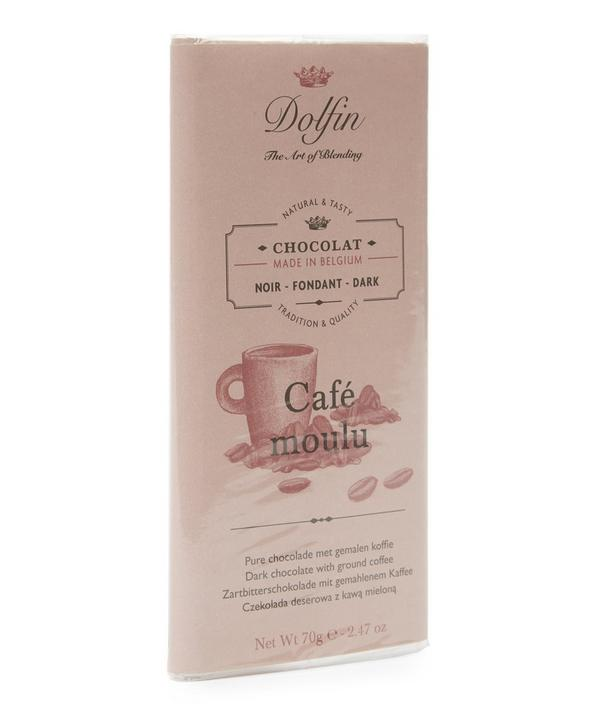 Dark Chocolate With Ground Coffee 70g