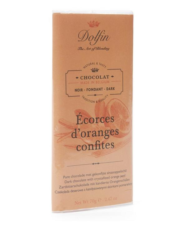 Dark Chocolate With Orange Peel 70g