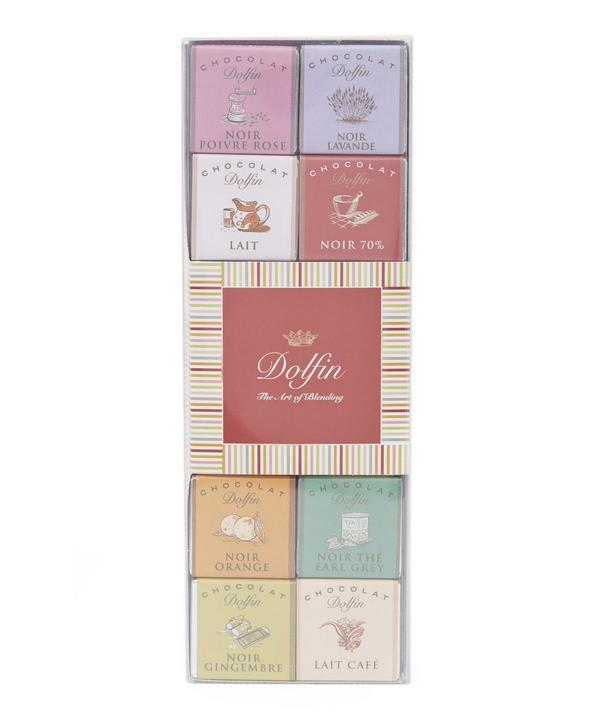 Neapolitan Panache Chocolate Squares 5g x 24