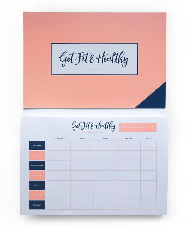 Get Fit and Healthy Notepad