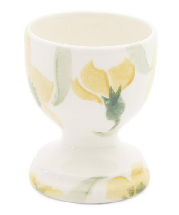Yellow Wallflower Egg Cup