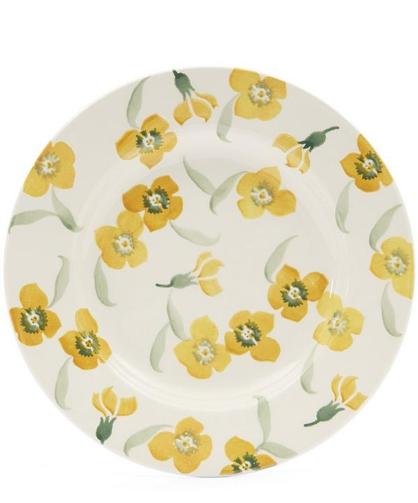 "Yellow Wallflower 8 1/2"" Plate"