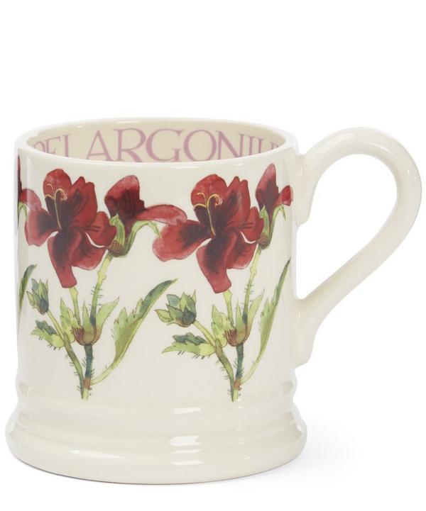 Pelargonium Half Pint Mug