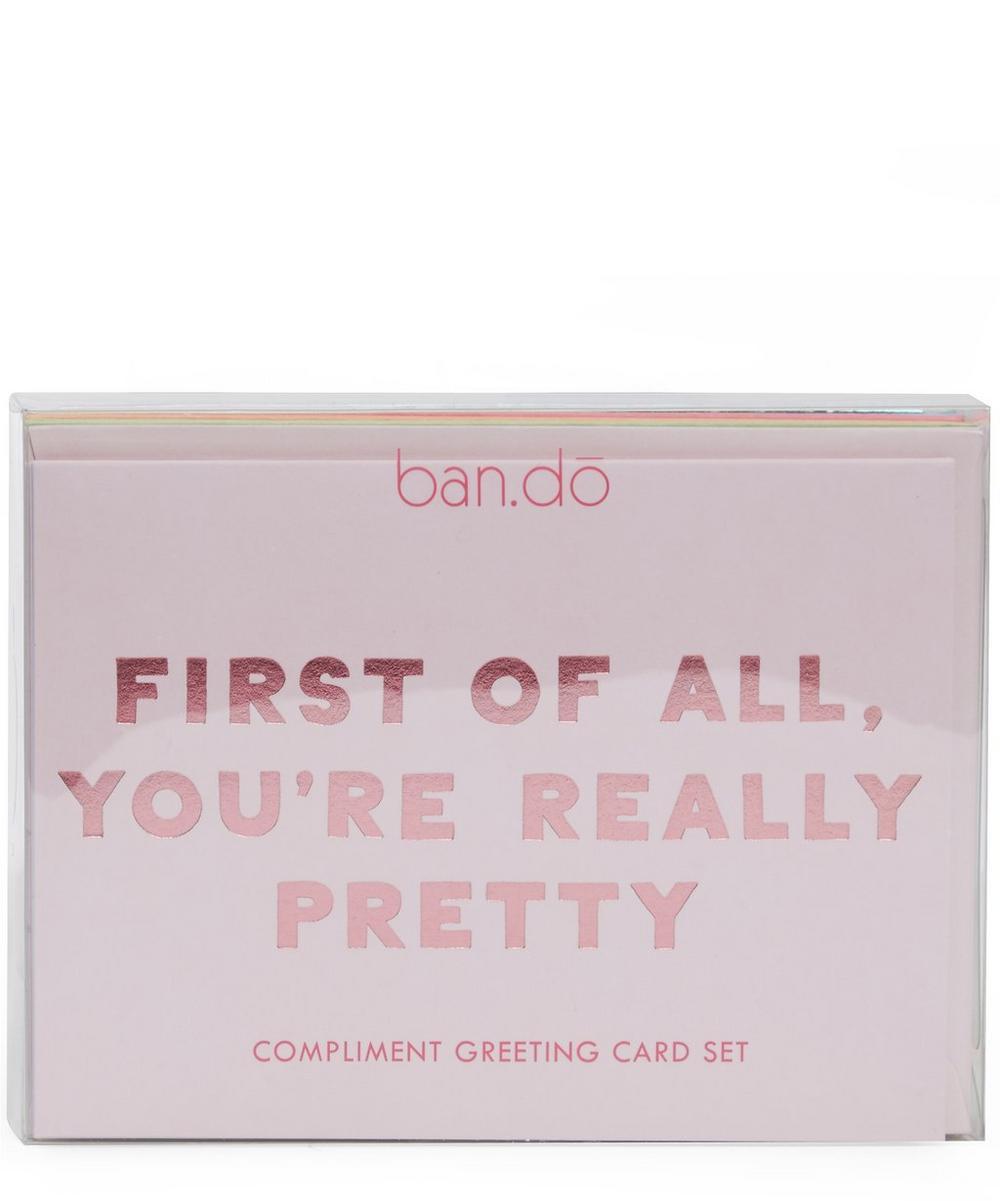 Compliment Notecard Set