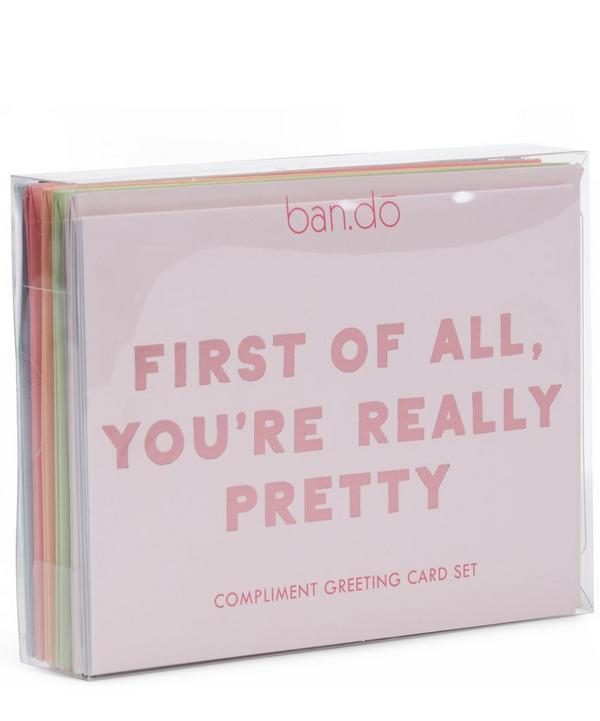 Compliment Notecard Set