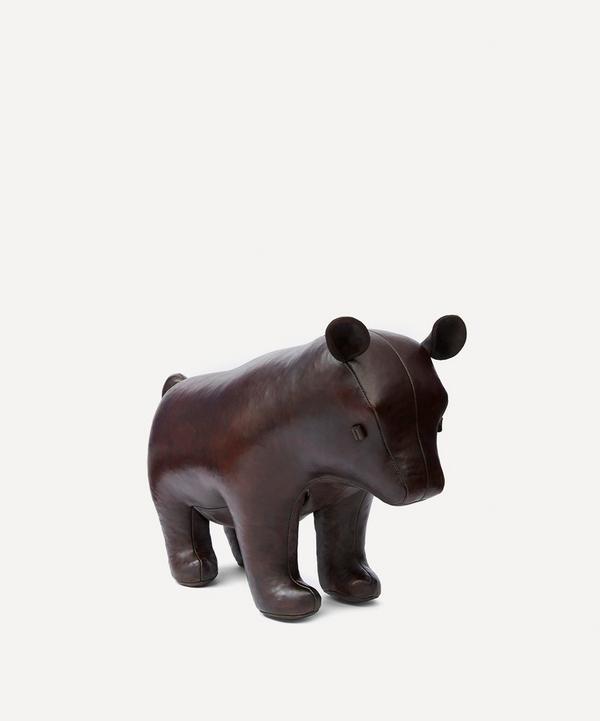 Medium Brown Bear Footstool