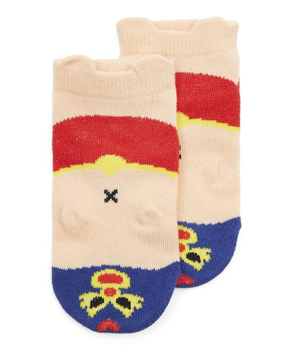 Wrestler Anklet Socks