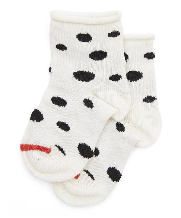 Mini Dalmation Crew Socks