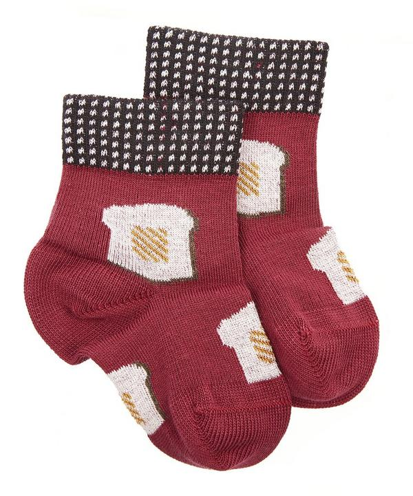 Mini Toast Crew Socks