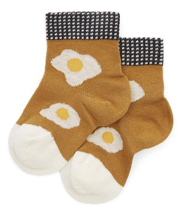 Mini Sunny Side Up Crew Socks