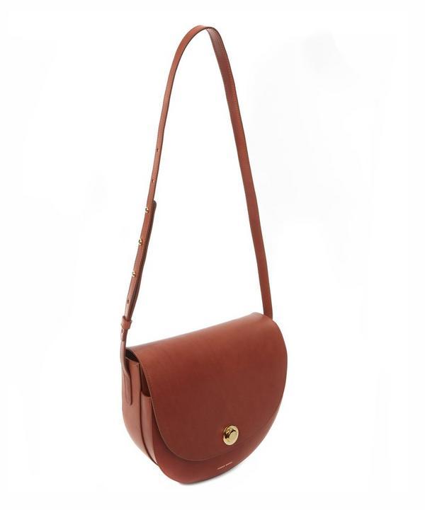 Vegetable Tanned Leather Saddle Bag