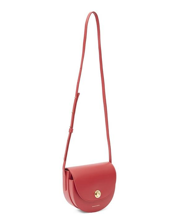 Mini Calf Leather Saddle Bag