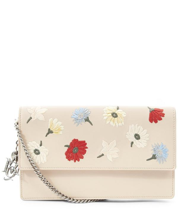 Insignia Floral Embroidered Shoulder Bag