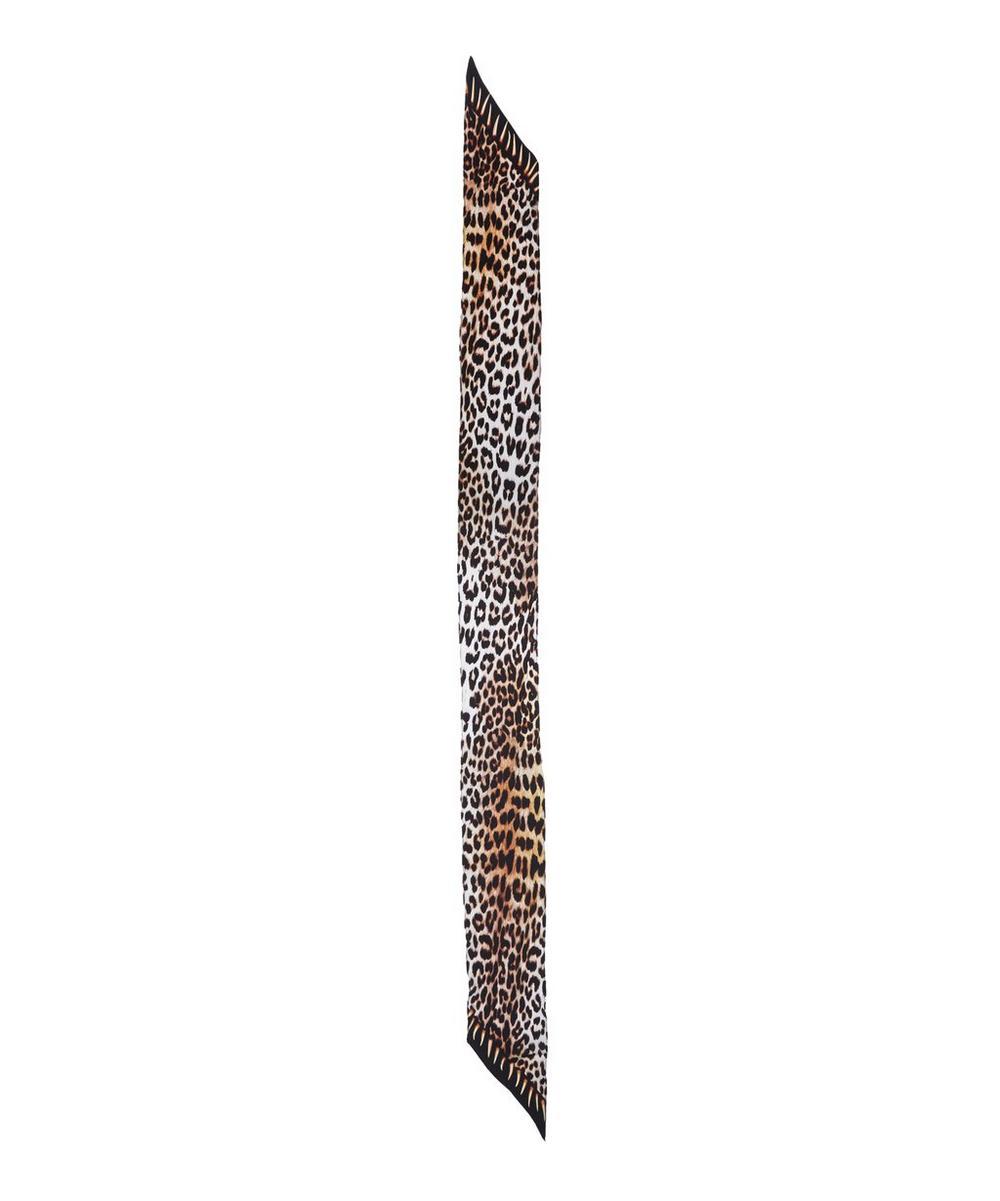 Leopard's Teeth Classic Skinny Scarf