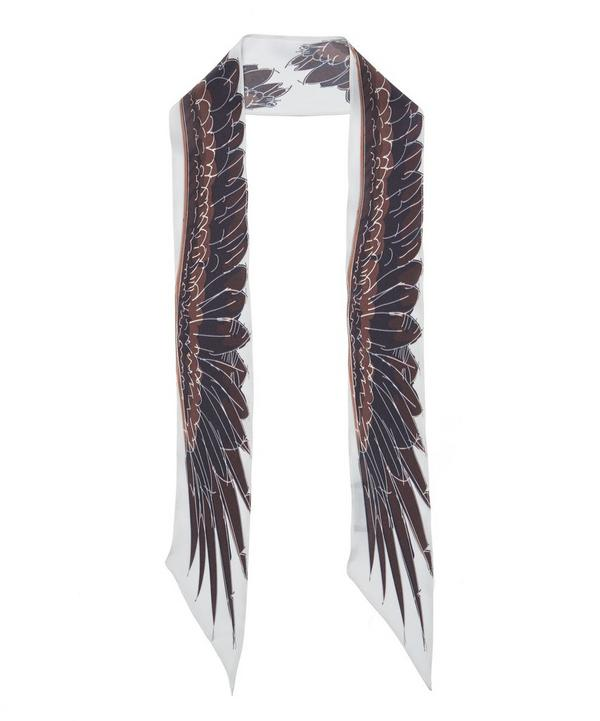 Wings Super Skinny Silk Scarf