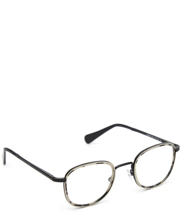 Roasty Metal Frame Glasses