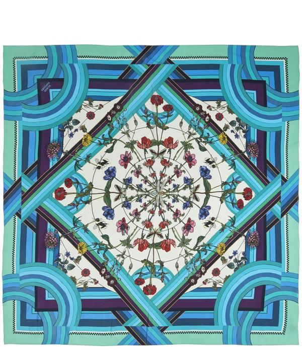Freaky Floral Silk Scarf