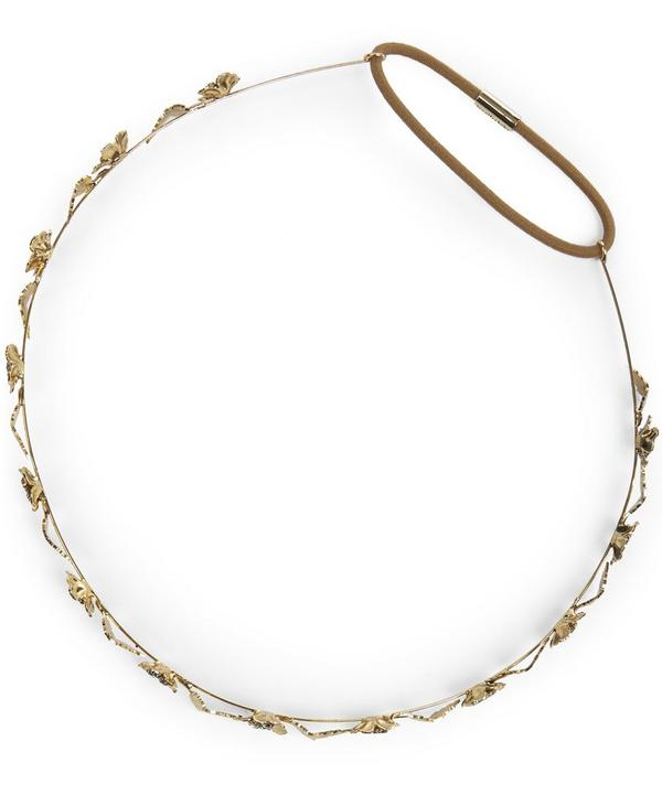 Margaux Bandeaux Golden Flowers Circlet Headband