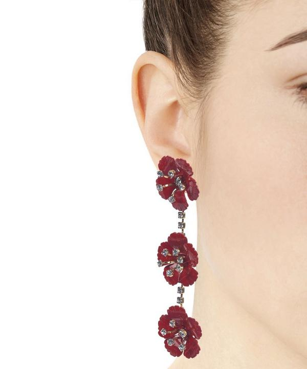 Belinda Floral Drop Earrings