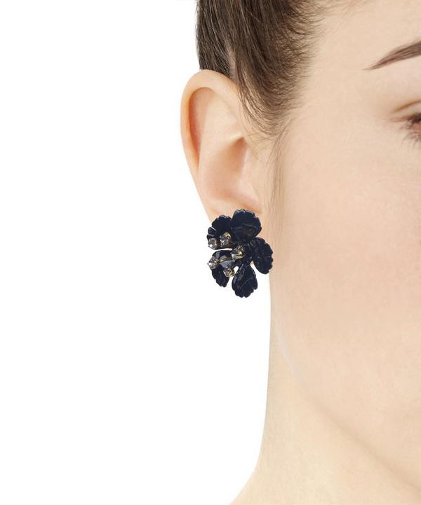 Gold-Plated Blossom Earrings