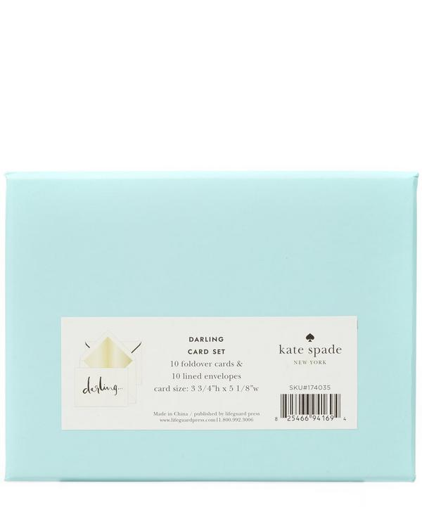 Foldover Darling Card Set