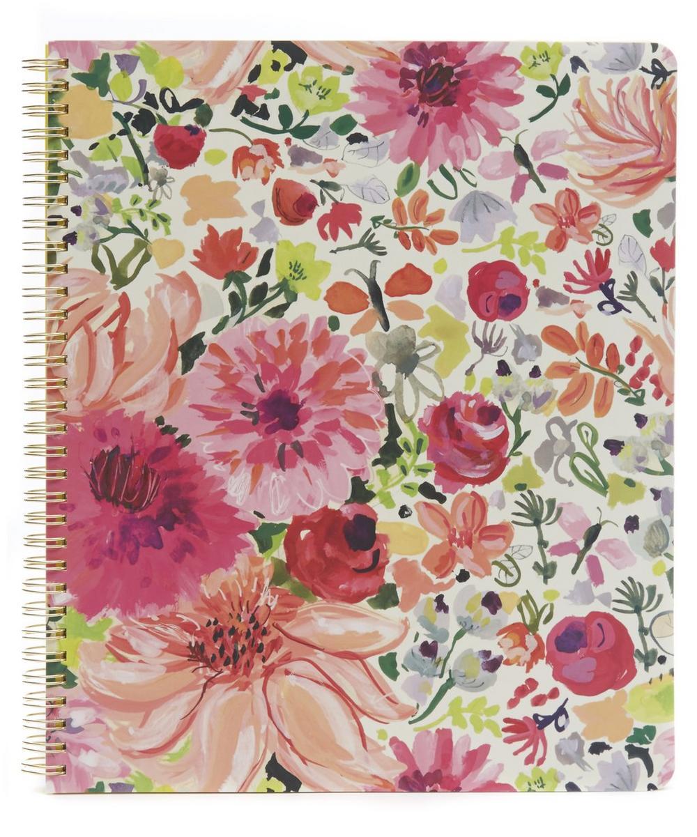 Dahlia Large Spiral Notebook