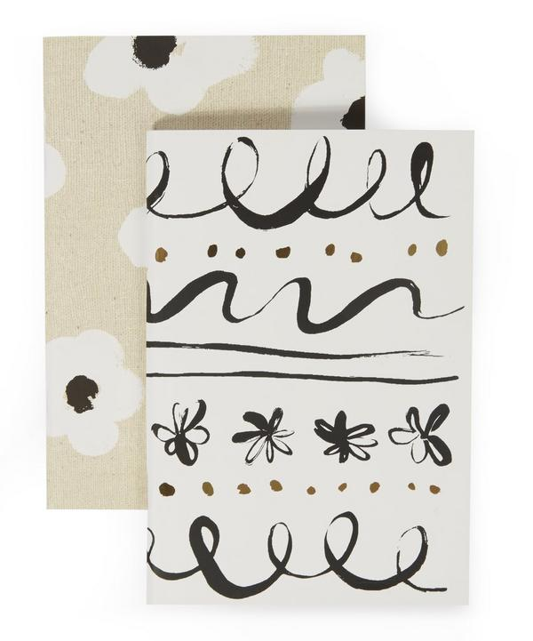 Faye Floral and Daisy Place Notebook Set