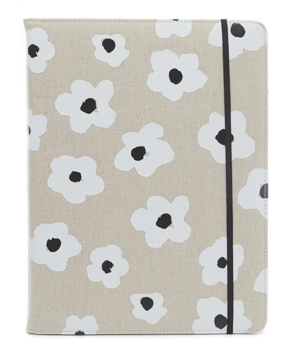 Faye Floral Folio Notepad