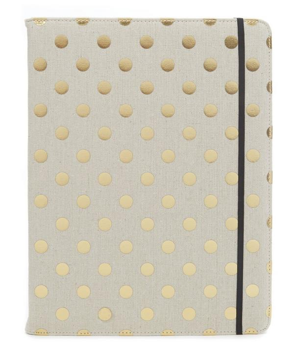 Gold Dots Folio