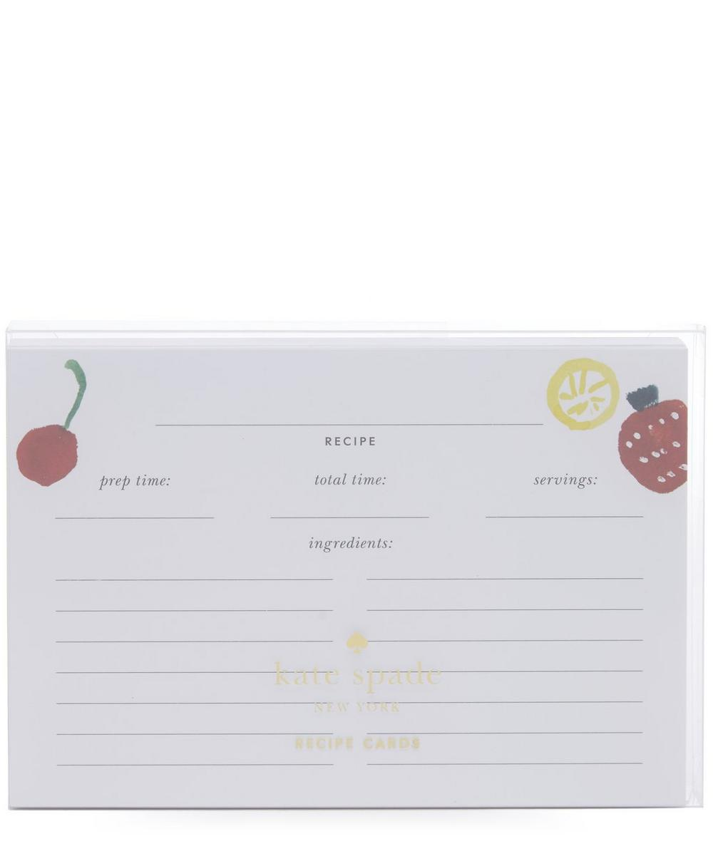 Pretty Pantry Recipe Card Refill