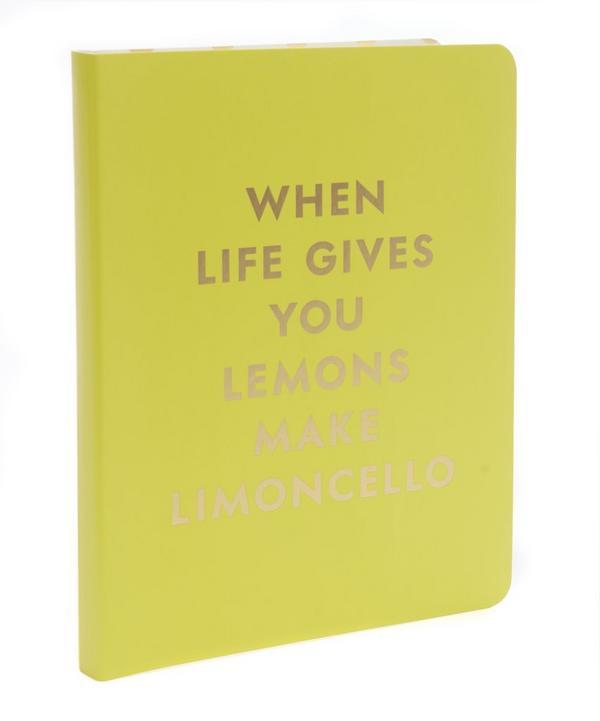 Limoncello Spiral Notebook