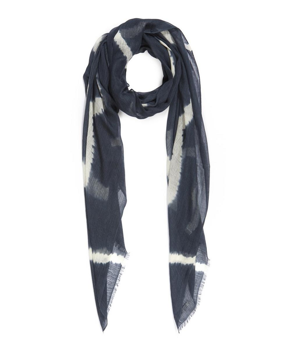 Song Tie Dye Silk and Cashmere Blend Scarf