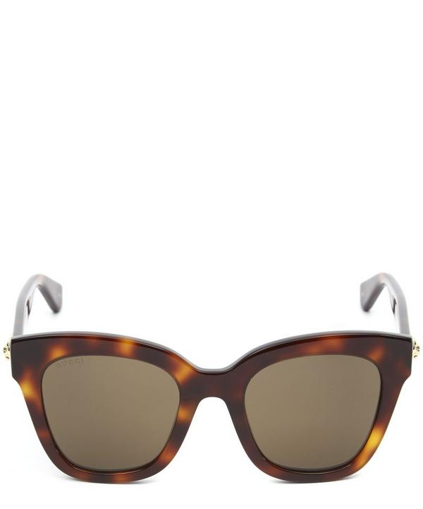 Square and Cat Eye Tortoise Sunglasses