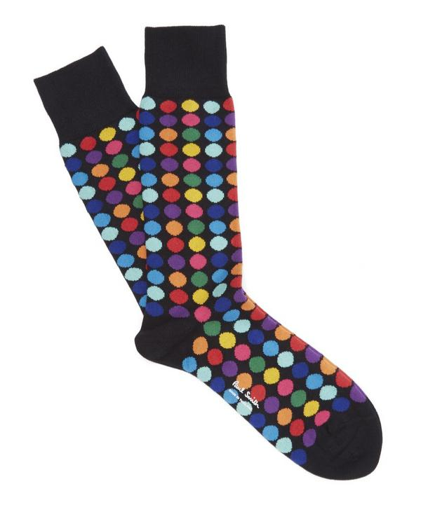 Multi Colour Polka Dot Socks