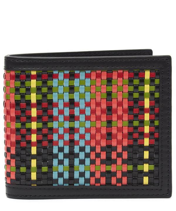 Woven Billfold Wallet