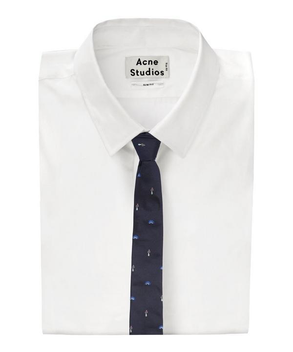 Toadstool Print Tie