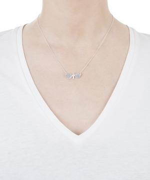 Drab Looper Moth Necklace