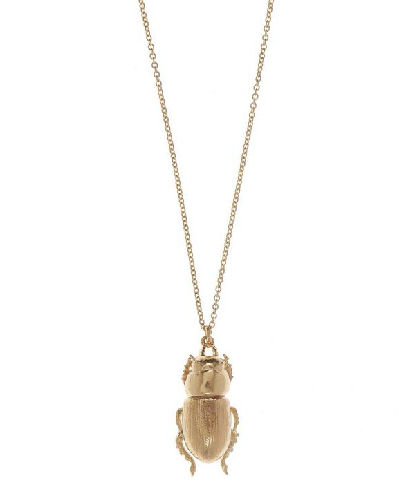 Female Lesser Stag Beetle Necklace
