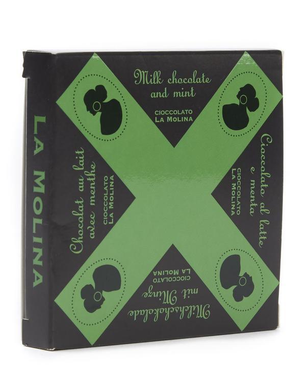 Milk Chocolate Bar with Mint 40g