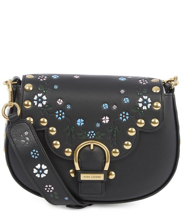 Studded Navigator Saddle Bag
