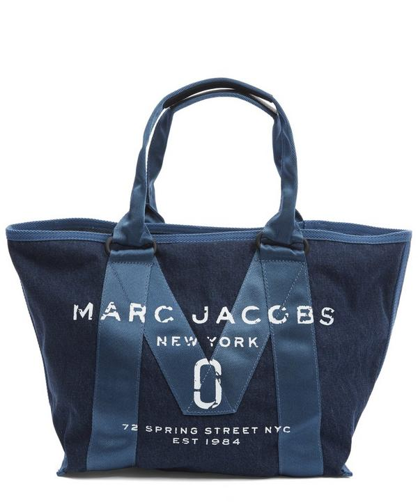 New Logo Denim Tote Bag