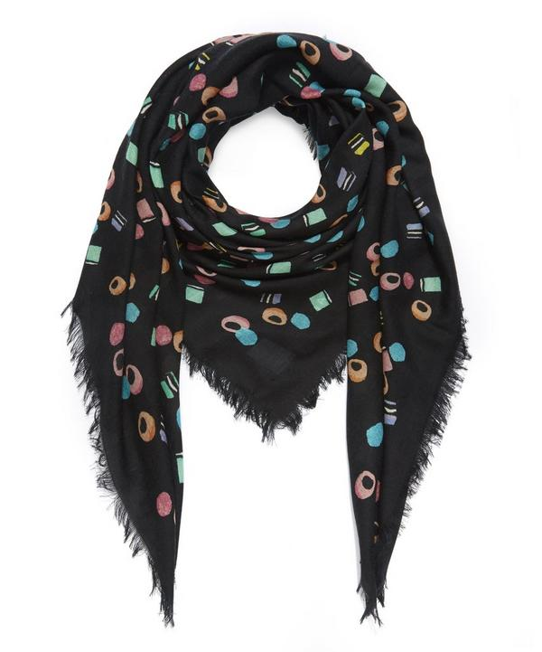 Assorted Liquorice Wool Scarf
