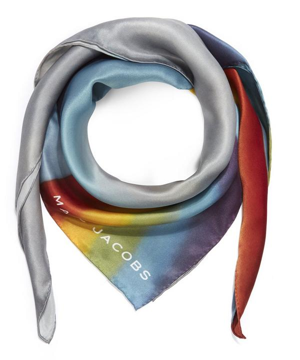 Rainbow Silk Scarf