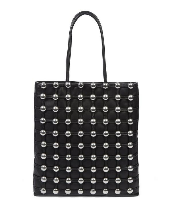 Dome Studded Cage Shopper Bag