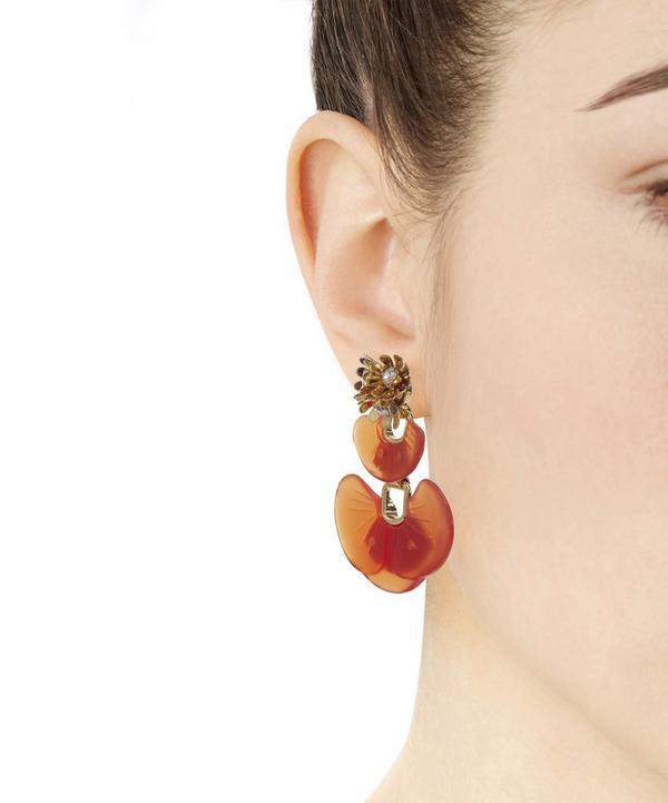 Enamel Island Earrings