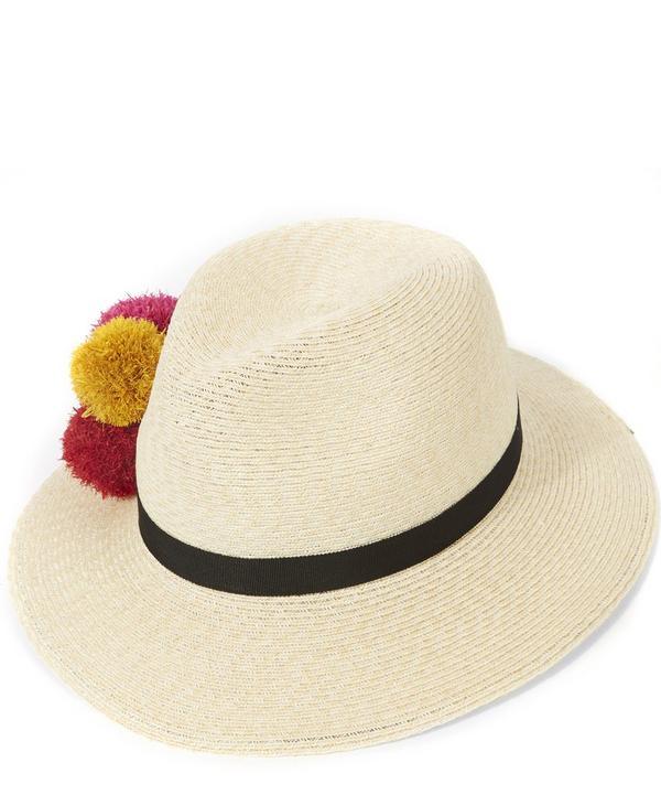 Lillian Pom Pom Trilby Hat