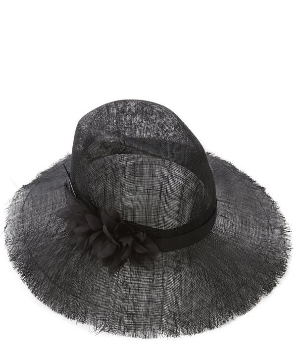 Emmanuelle Net Fedora Hat