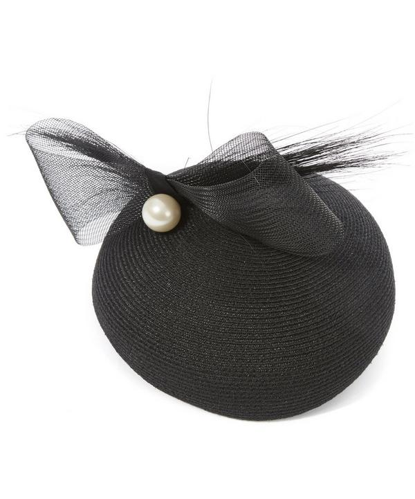 Coco Bow and Faux Pearl Beret