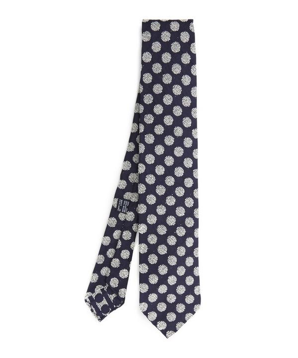 Seersucker Big Dot Tie